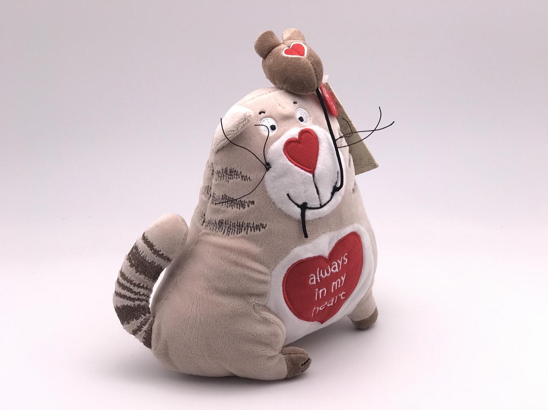 Игрушка Кот и мышь Любовь с первого взгляда 20 см