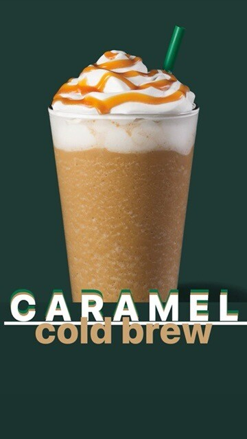Caramel Cold Brew - ONLY ONE 3 PACK PER CUSTOMER
