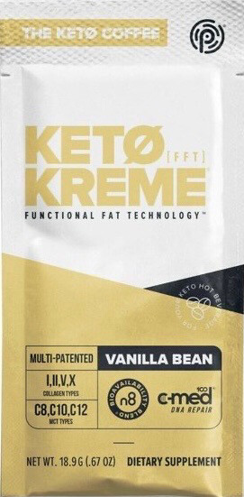 3 PK Vanilla Bean KETO KREME
