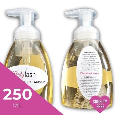 Foaming Lash Cleanser Professional Size - 250ml Quantity Discount