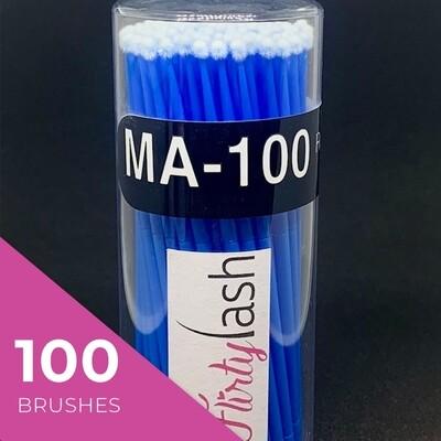 FlirtyLash Micro Fiber brushes
