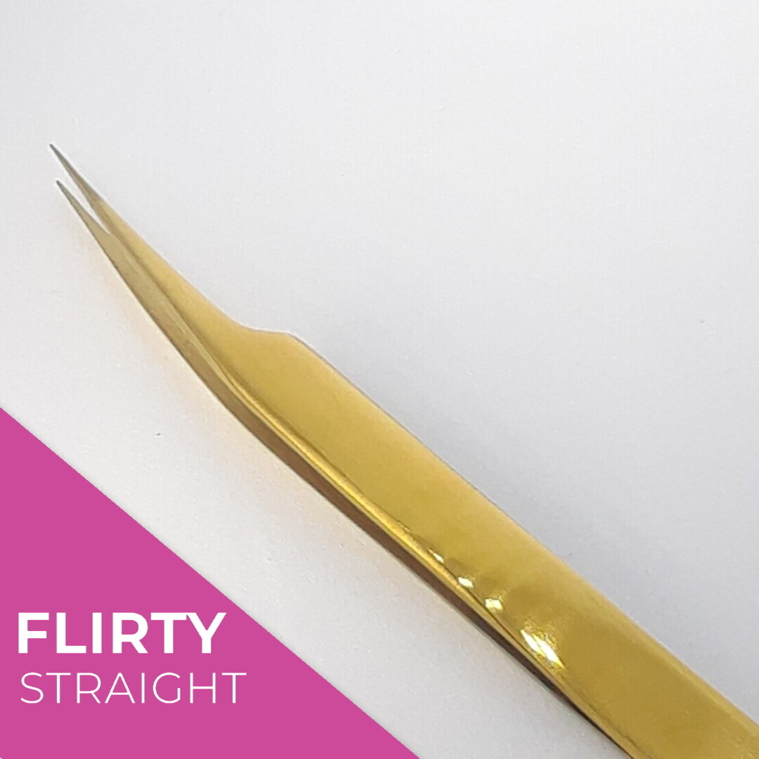 Flirty Straight Isolation Tweezers
