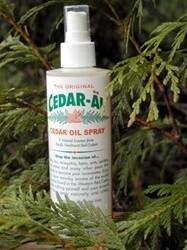 CUSTOMER APPRECIATION SPECIAL 4 cedar sprays + 1 FREE