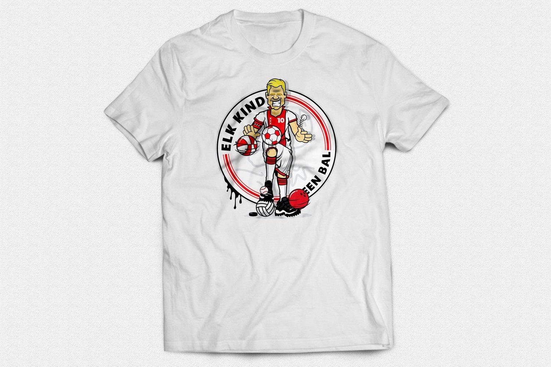 "EKEB Gear™ - Limited Edition T-shirt ""Klaassen"" - Wit"