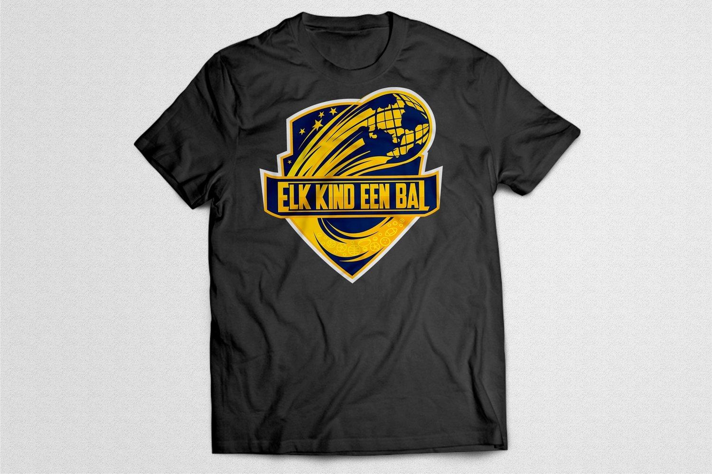 "EKEB Gear™ - T-shirt ""Logo"" - Zwart"