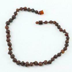Healing Hazel Raw Amber Teething Necklace (12-13
