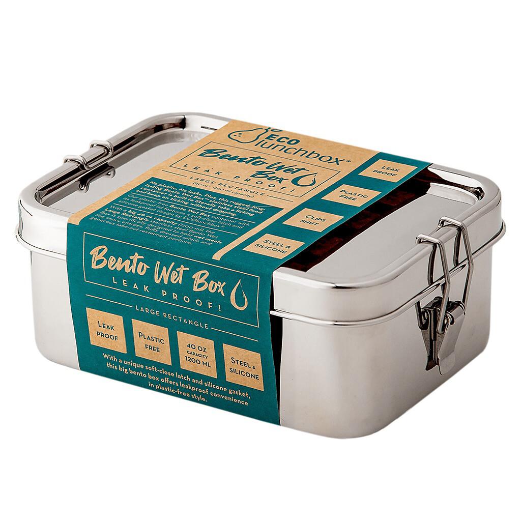 ECO Lunchbox Bento Wet Box (Large Rectangle)