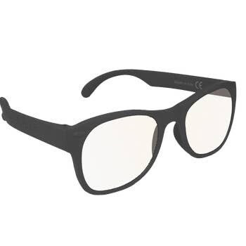 Roshambo Junior Screen Time Blue Blocker AVN Glasses: Black / AVN - Blue