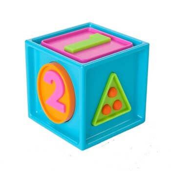 Fat Brain 1 2 3 Smarty Cube