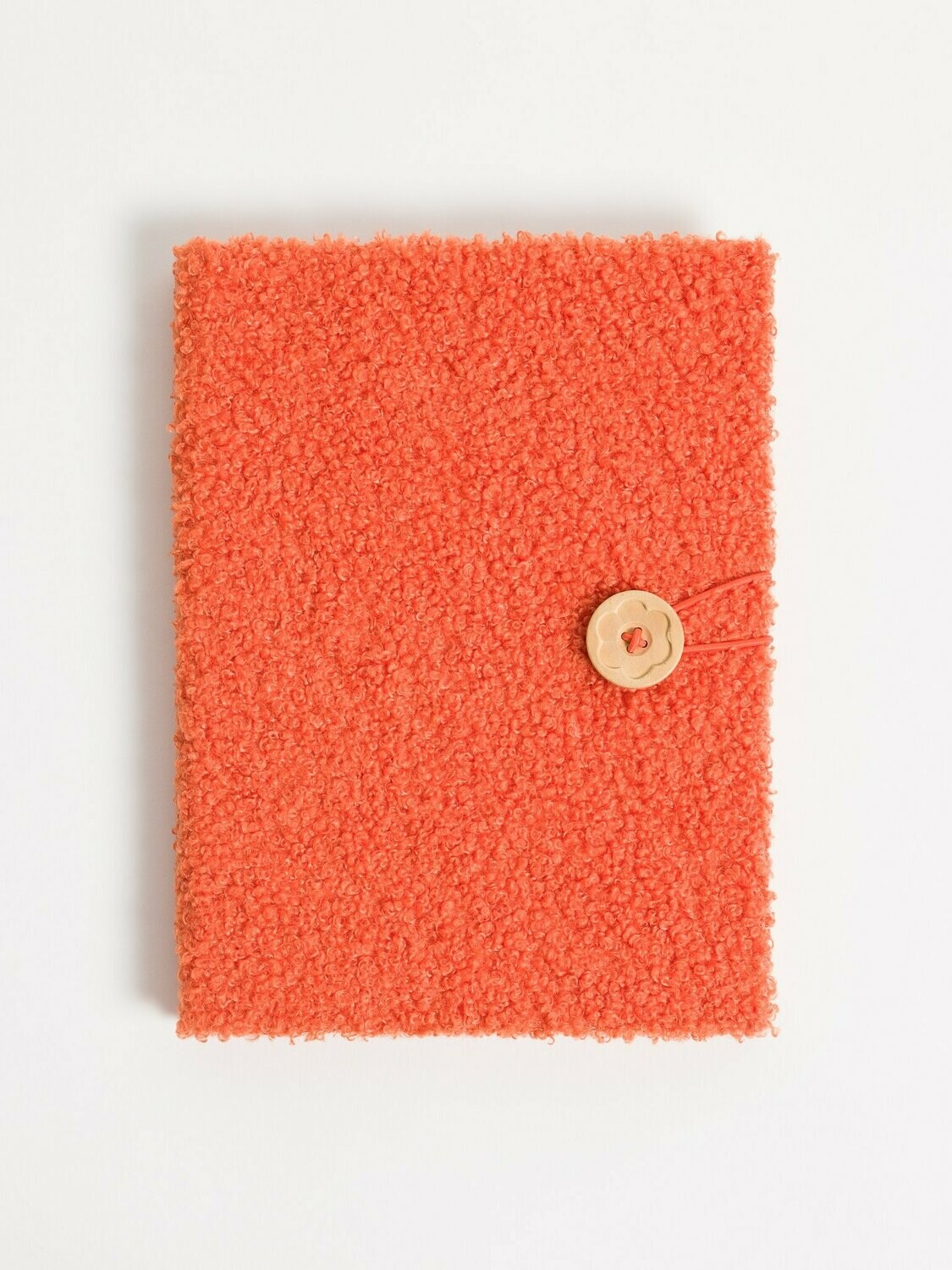 Coral Sherpa Hardcover Journal