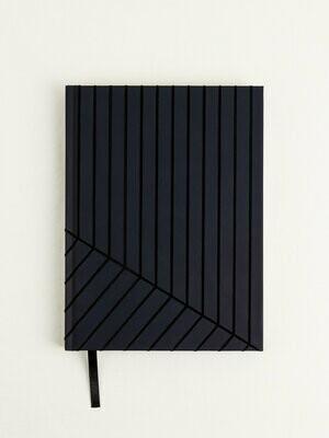 Vena Flocked Hardbound Journal