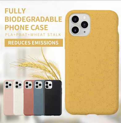 Ethel Clark Wheat Straw iPhone Case -- Biodegradable