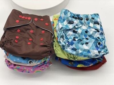 West Coast Dipes Pocket Diaper Bundle