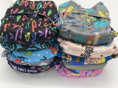 West Coast Dipes One Size All in One Bundle