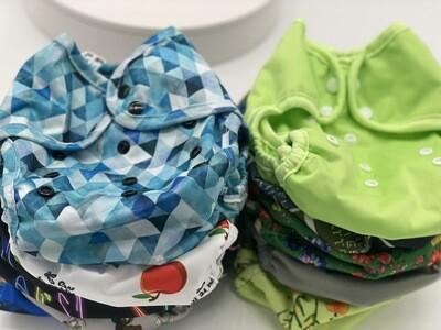 West Coast Dipes One Size Diaper Cover Bundle