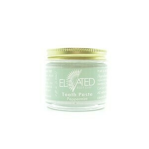 ELEVATED ° TOOTH PASTE NATURAL TOOTH PASTE ° 2OZ GLASS JAR