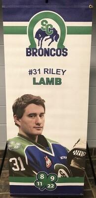 2018/19 Riley Lamb Banner