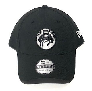 Adult 39Thirty Black Retro Hat