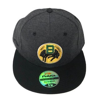 Adult Retro Fitted Flat Hat