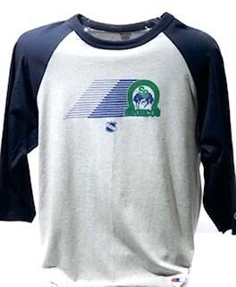 Retro Theme Night Raglan Shirt