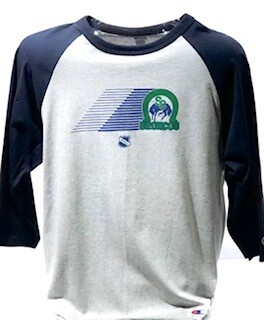 Retro Theme Night Raglan Shirt