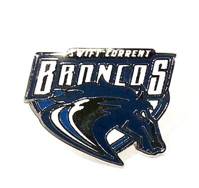Broncos Retro Pin
