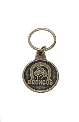 Bronco Keychain