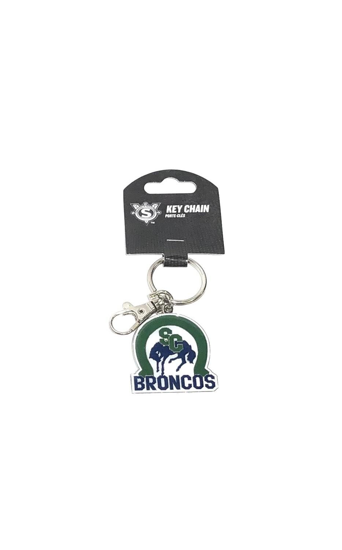 Broncos Keychain