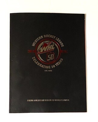WHL 'Celebrating 50 years' Book