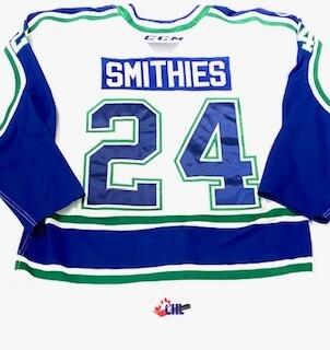 2019/20 Tyler Smithies Authentic Game Worn White Jersey