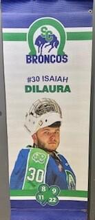 2019/20 Isaiah DiLaura Banner