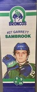 2019/20 Garrett Sambrook Banner