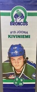 2019/20 Joona Kiviniemi Banner