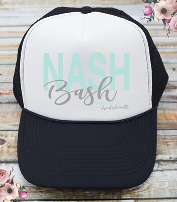 Nash Bash Nashville Bachelorette Trucker Hat