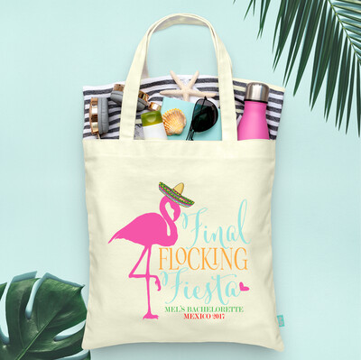Final Flocking Fiesta Mexico Bachelorette Tote