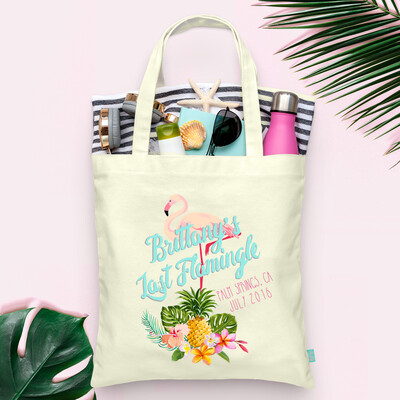 Last Flamingle Palm Springs Bachelorette Tote Bag