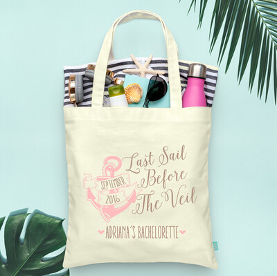 Last Sail Before the Veil Bachelorette Cruise Tote