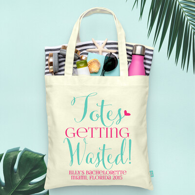 Totes Getting Wasted -Bachelorette Tote Bag