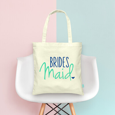 Bridesmaid Wedding Tote Bag