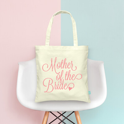 Mother of the Bride- Wedding Tote Bag