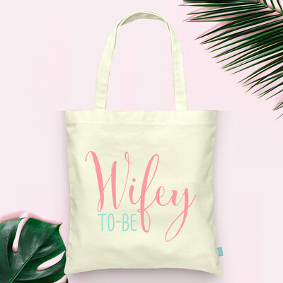 Wifey to Be Wedding Tote Bag