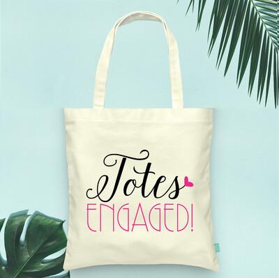 Totes Engaged Wedding Tote Bag