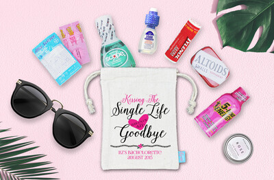 Single Life Bachelorette Hangover Favor Bag