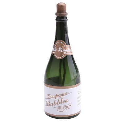 Bubbly Champagne Shaped Bottle with Blowing Bubbles