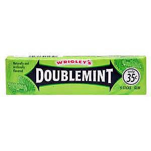Hangover Kit Filler - Doublemint Gum