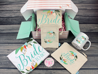 Fancy Bride To Be Gift Box Bride Box, Engagement Box, Bride to Be Gift