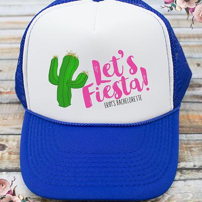 Let's Fiesta Bachelorette Party Trucker Hat