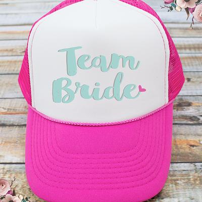 Team Bride Bachelorette Party Trucker Hat