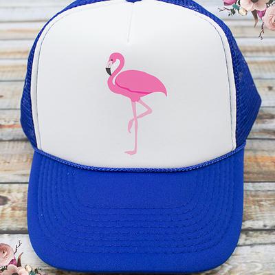 Flamingo Bachelorette Party Trucker Hat