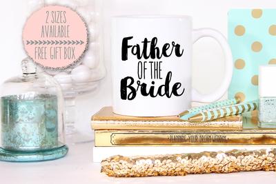 Father of the Bride Funky Mug -Bridal Party Mug